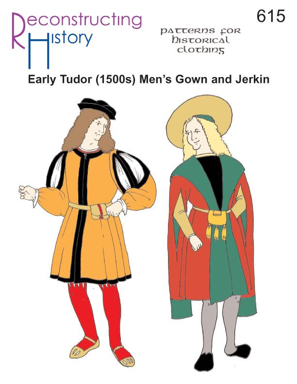 RH615 – 1500-1520s Early Tudor Men's Gown & Jerkin