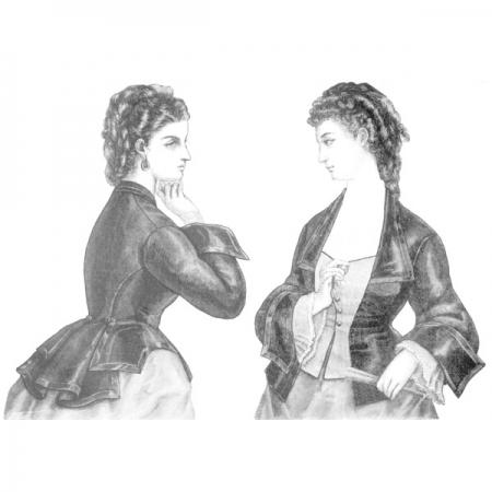 Vest Basque pattern illustration